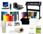 T-Shirt And Sign Making Vinyl Cutter Plotter Package